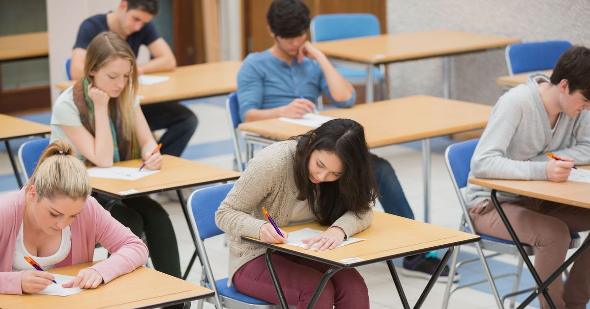 Students will receive their exam results differently this year
