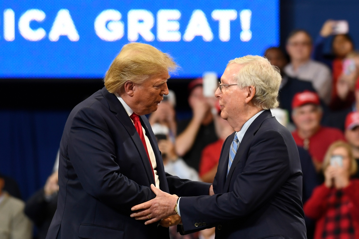 Trump-McConnell rift threatens GOP's Senate hopes