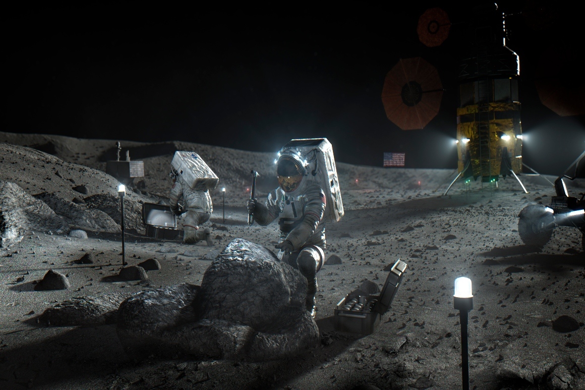 Trump's 2024 moon goal in jeopardy, acting NASA chief says