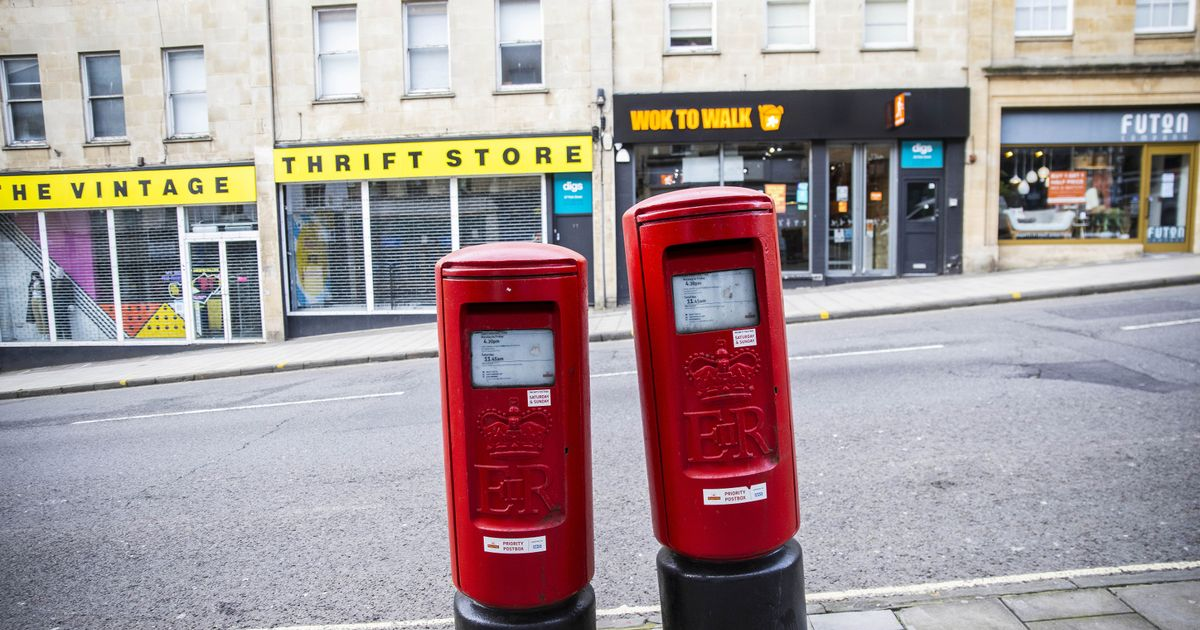Two 'wonky' postboxes go viral with people unable to decide which is straight