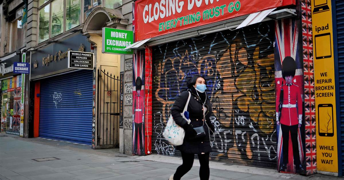 U.K. economy suffers worst annual slump in 300 years after Covid hit