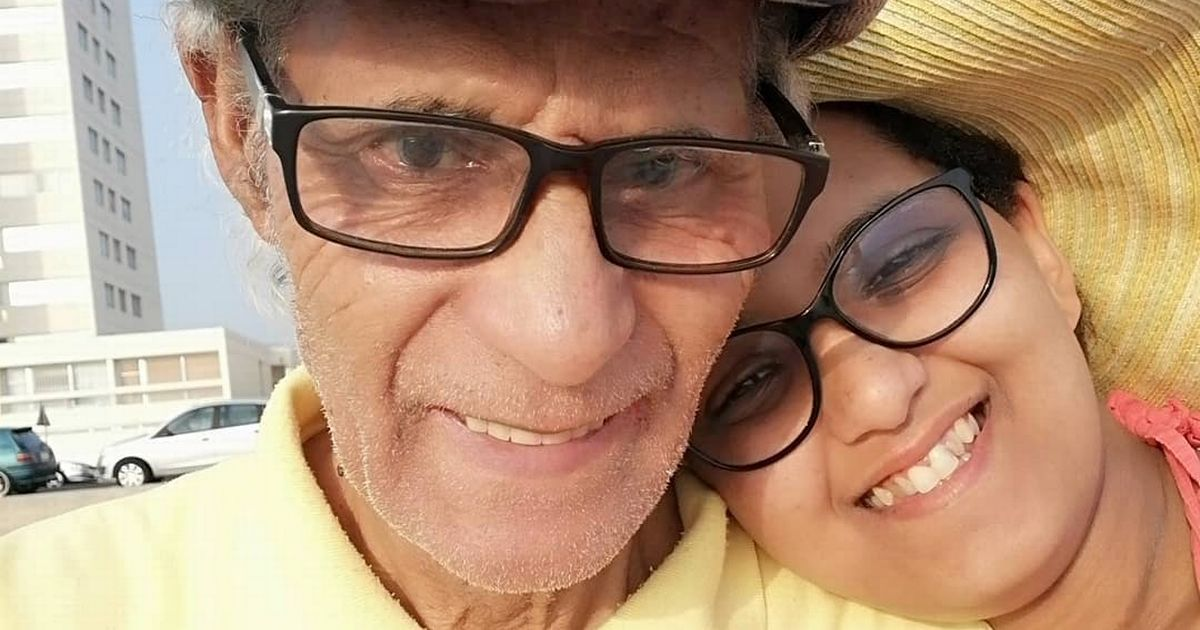 Woman, 29, marries man 51 years older than her and says her parents 'love him'