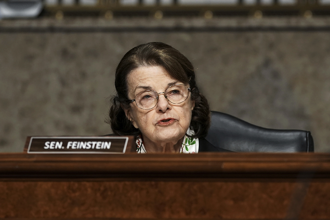 'A mountain out of a molehill': Feinstein dismisses Newsom's talk of her replacement