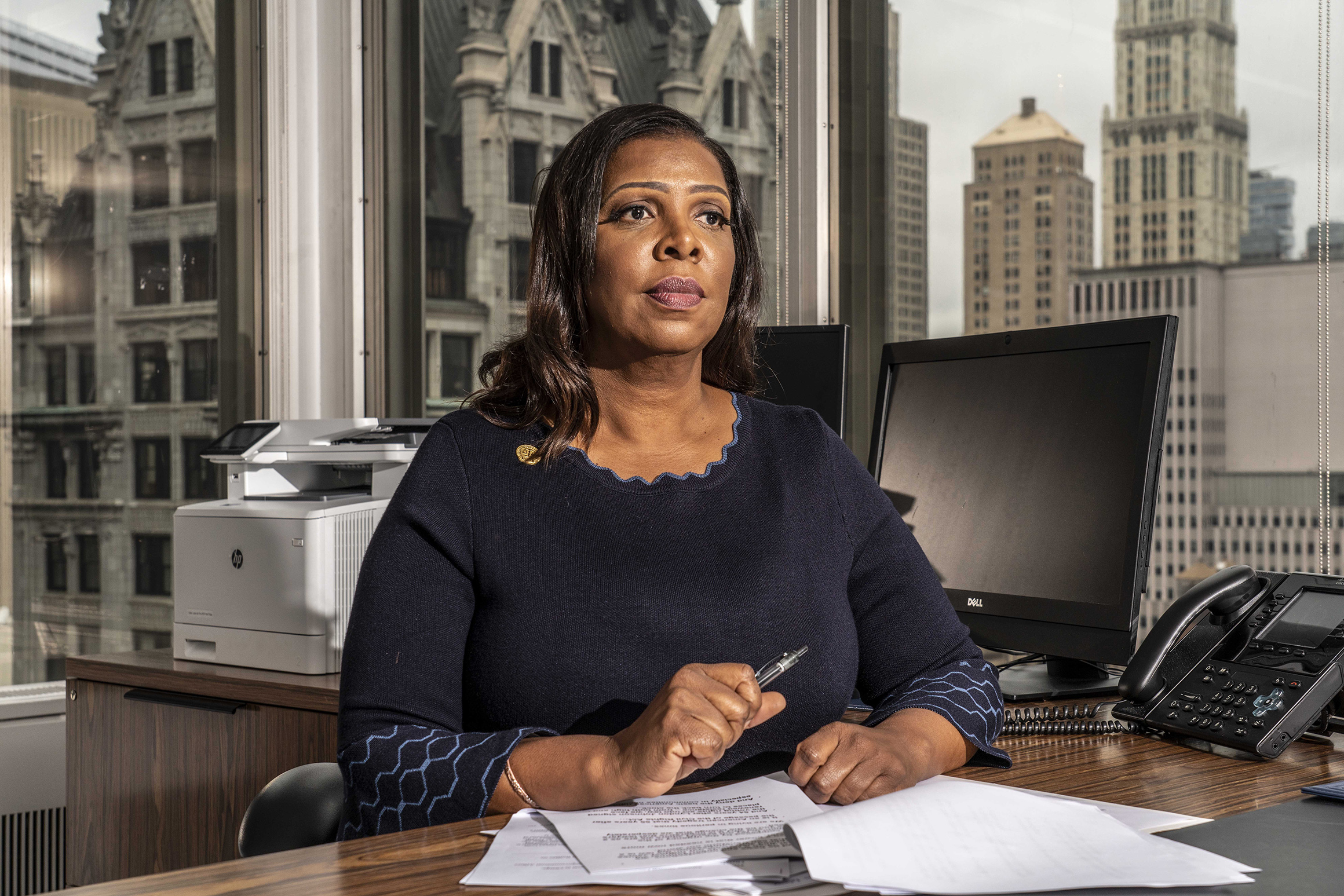 'It's a Kill Shot': How Tish James Holds Cuomo's Future In Her Hands