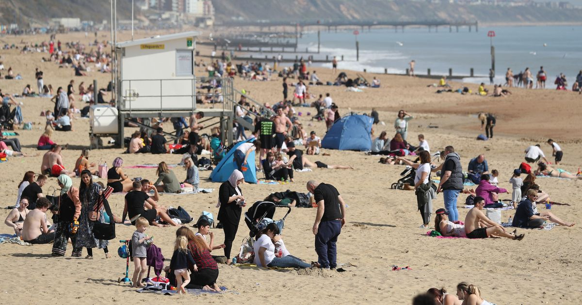 'Exceptional warmth' as temperatures soar by 20c in 4 hours