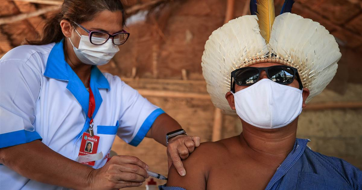 'History is dying': Brazil's Indigenous urgently need Covid vaccines, protection, groups say