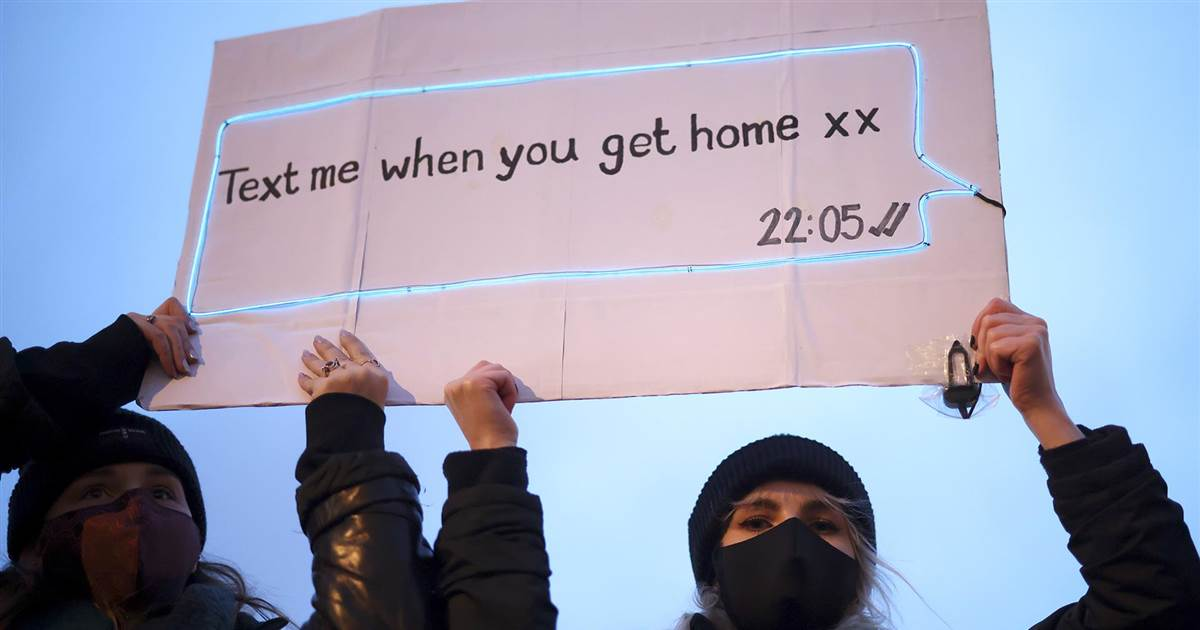 'Text me when you get home xx': Author of viral post after murder of Sarah Everard speaks on women's fears