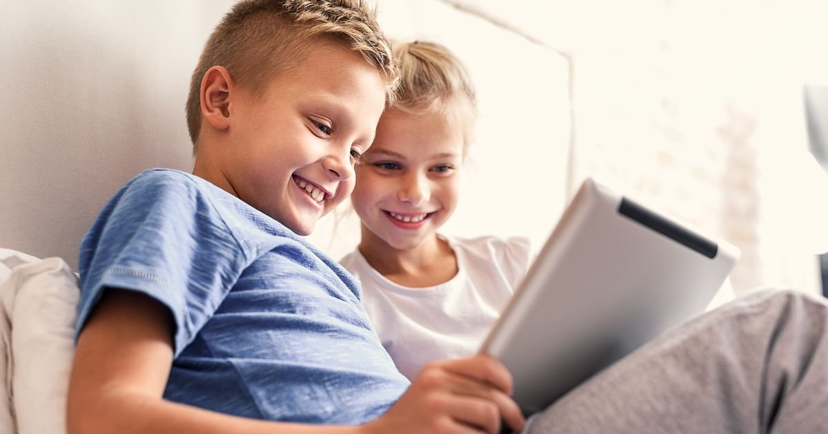12 alarming signs of impact of tablets on young children - new study