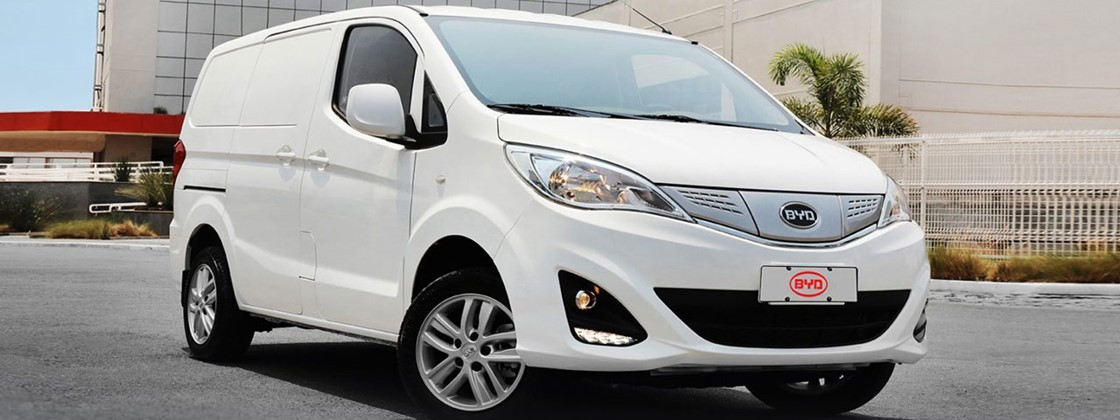 China's BYD launches updated electric van model in Brazil