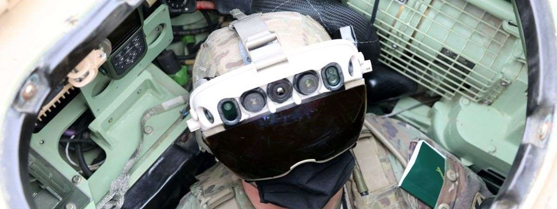 "US Army tests glasses that ""see"" through walls"