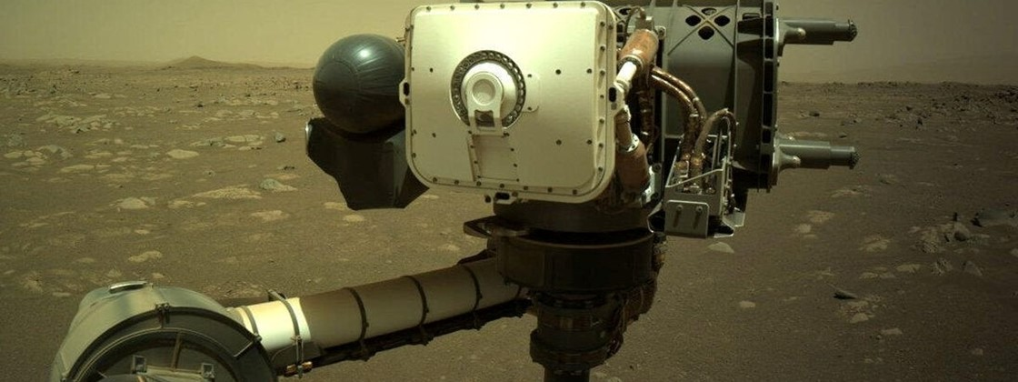NASA releases audio of laser shots on a Mars rock