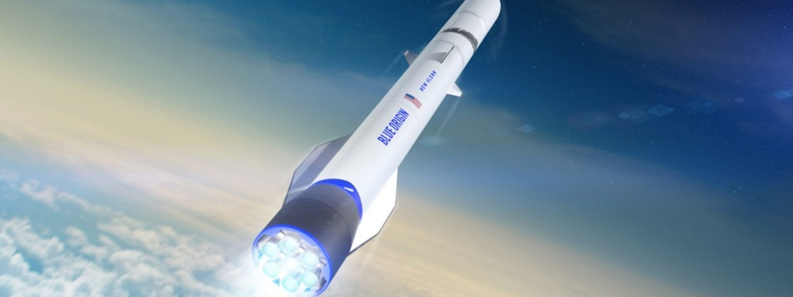 Blue Origin will use rockets to simulate the Moon's gravity