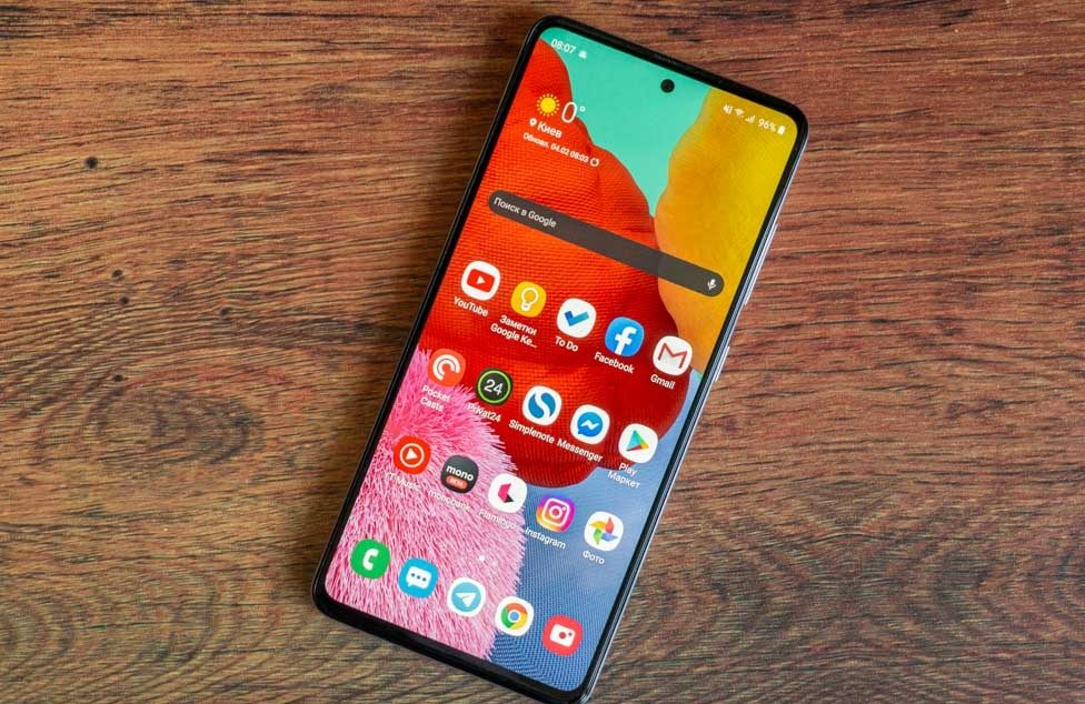 Android 11 heralds three Samsung models