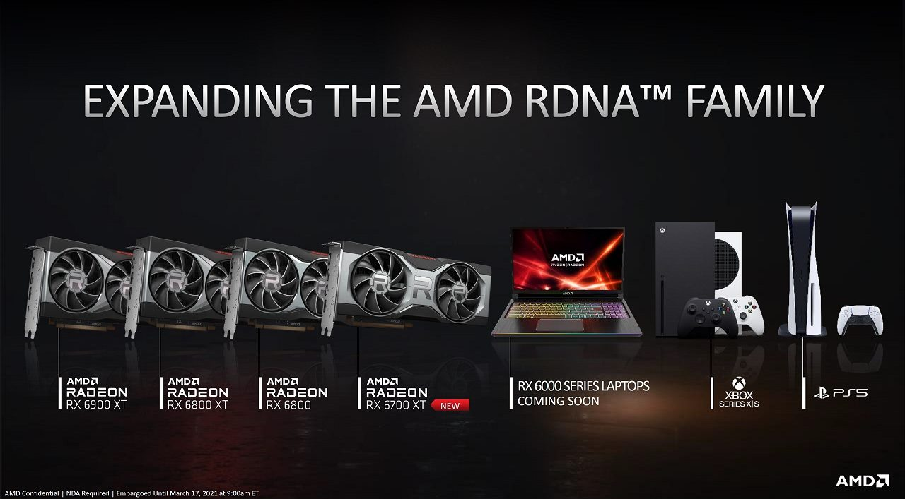 AMD Radeon RX 6800M features leaked: Navi 22