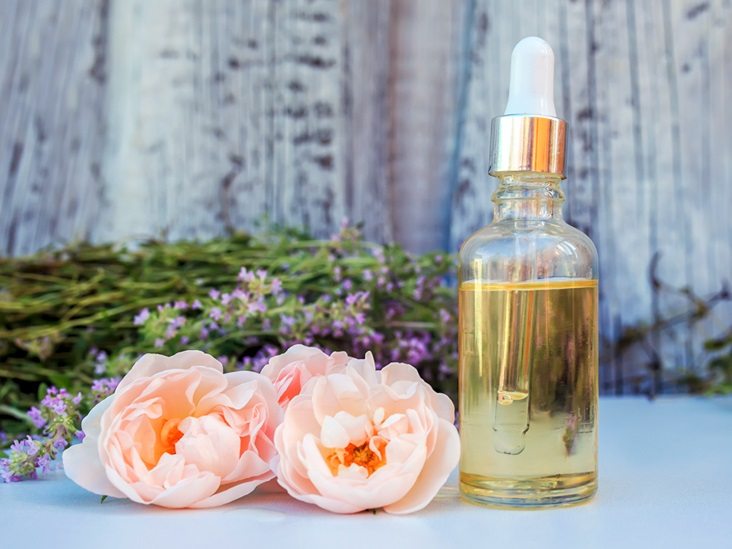Not only rose petal oil is also beneficial