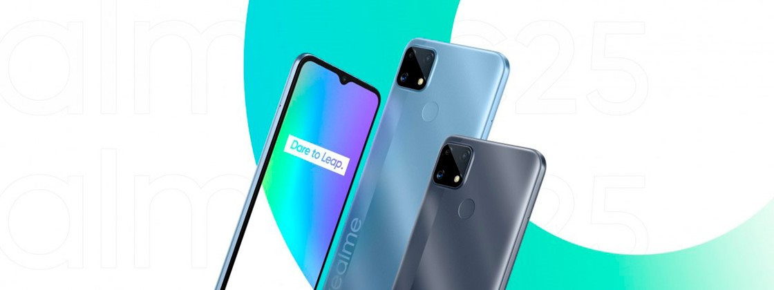 New Realme C25 with 6,000 mAh battery and triple camera