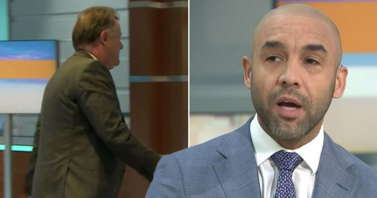 Alex Beresford likes tweet about 'karma' after hosting GMB