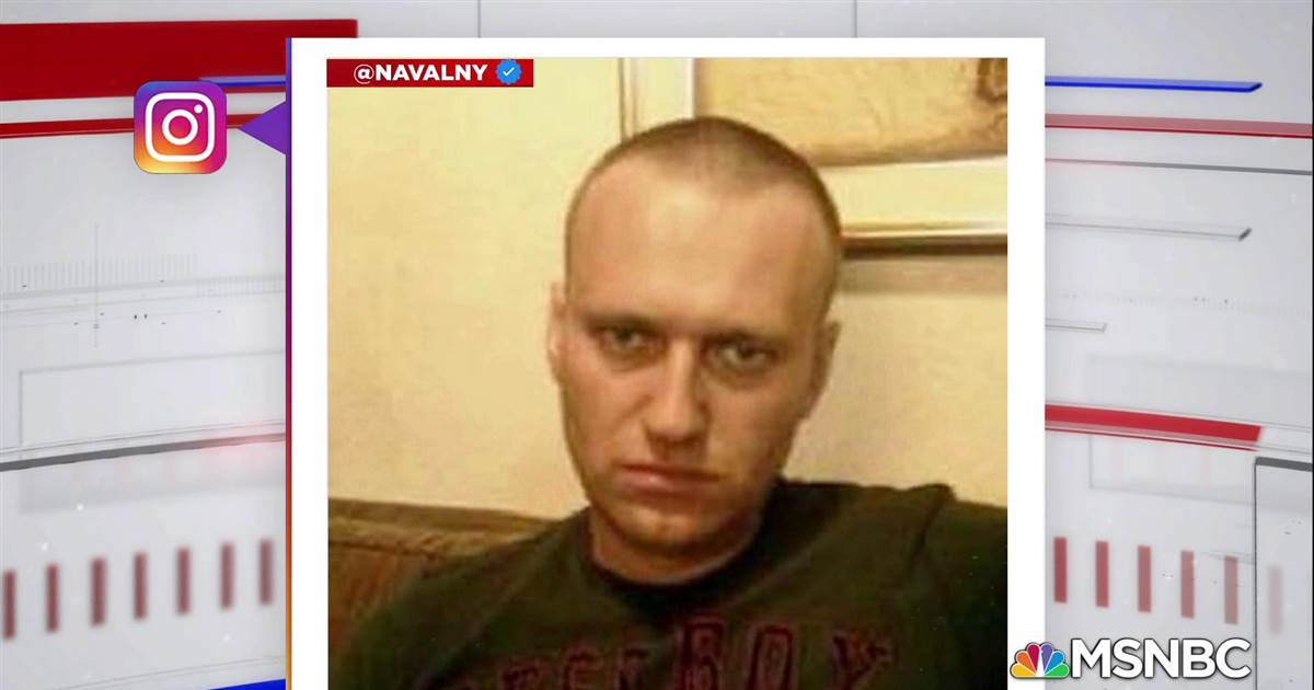 Alexei Navalny's Instagram account posts photo from Russian prison camp