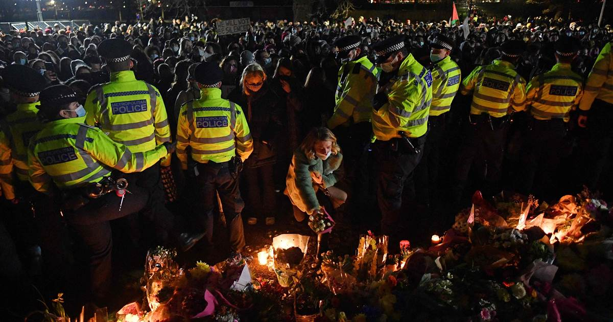 Anger towards London police grows after clashes at vigil for slain U.K. woman