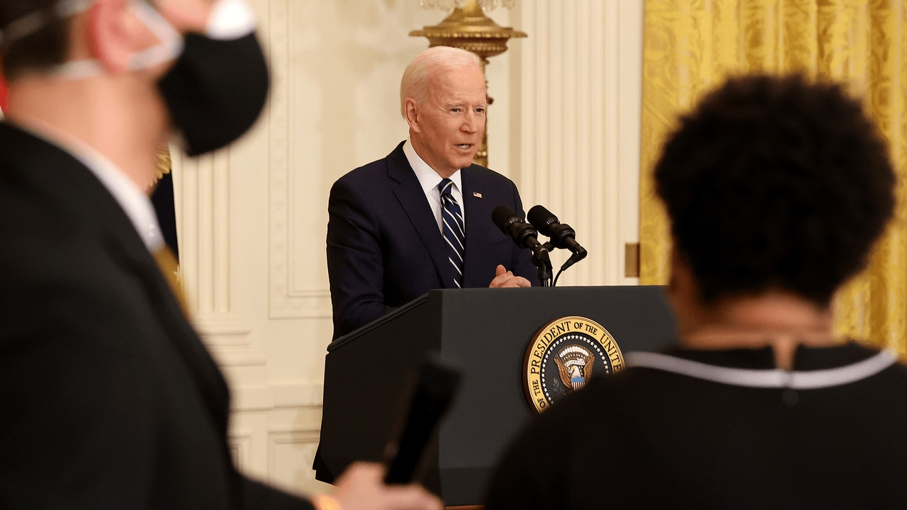 Biden dodges on eliminating the Senate filibuster