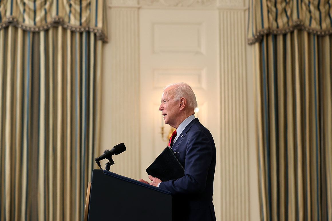 Biden team holds fire after North Korean missile launches
