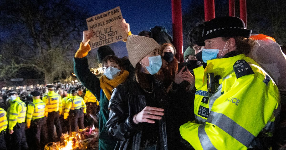 Calls for Met Police chief to resign after Sarah Everard vigil