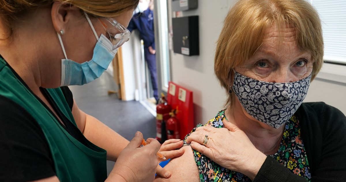 Covid vaccine: More than 2.5 million people in England get second jab