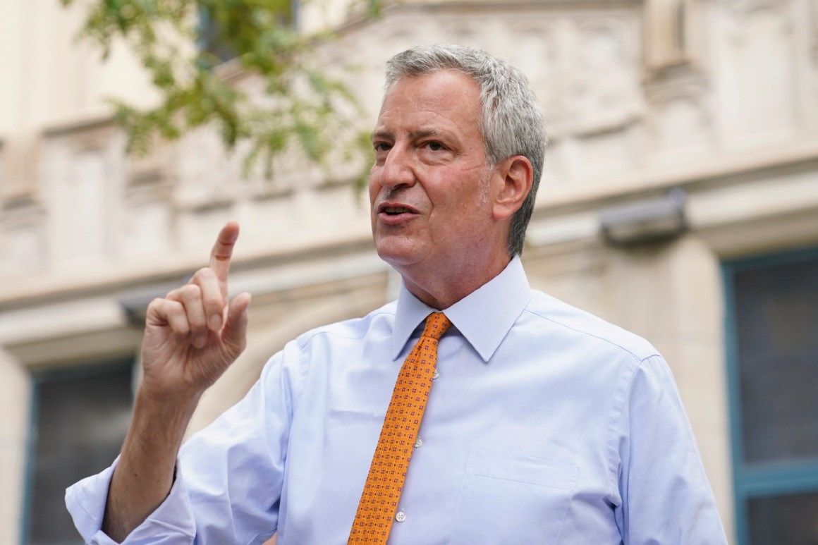 De Blasio: Cuomo 'can no longer serve as governor'