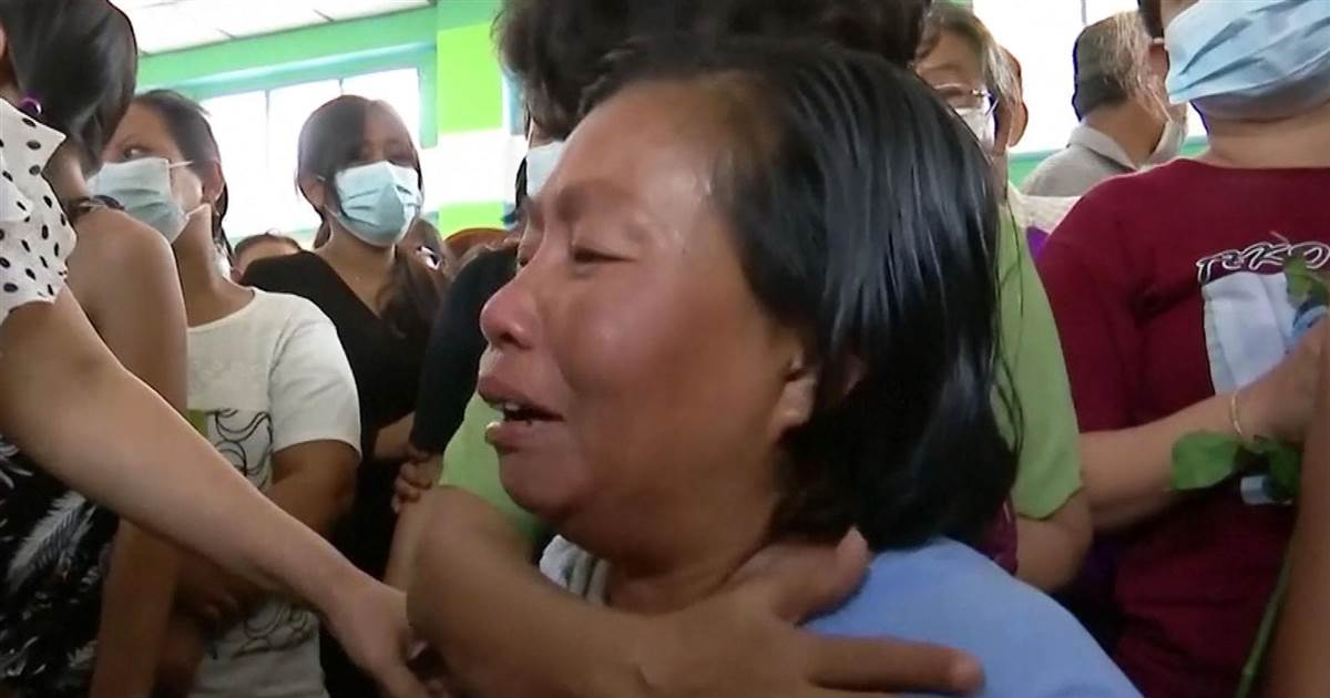 Distraught mother mourns her son, victim of Myanmar crackdown