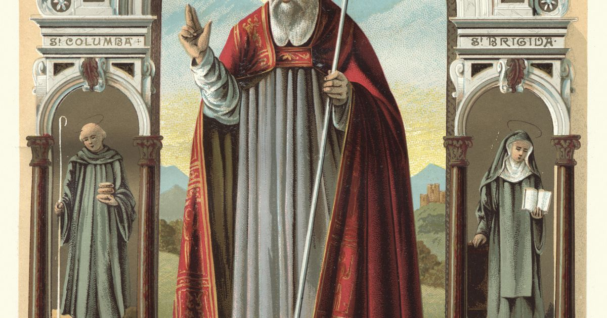Dramatic story of how slave became Patron Saint of Ireland
