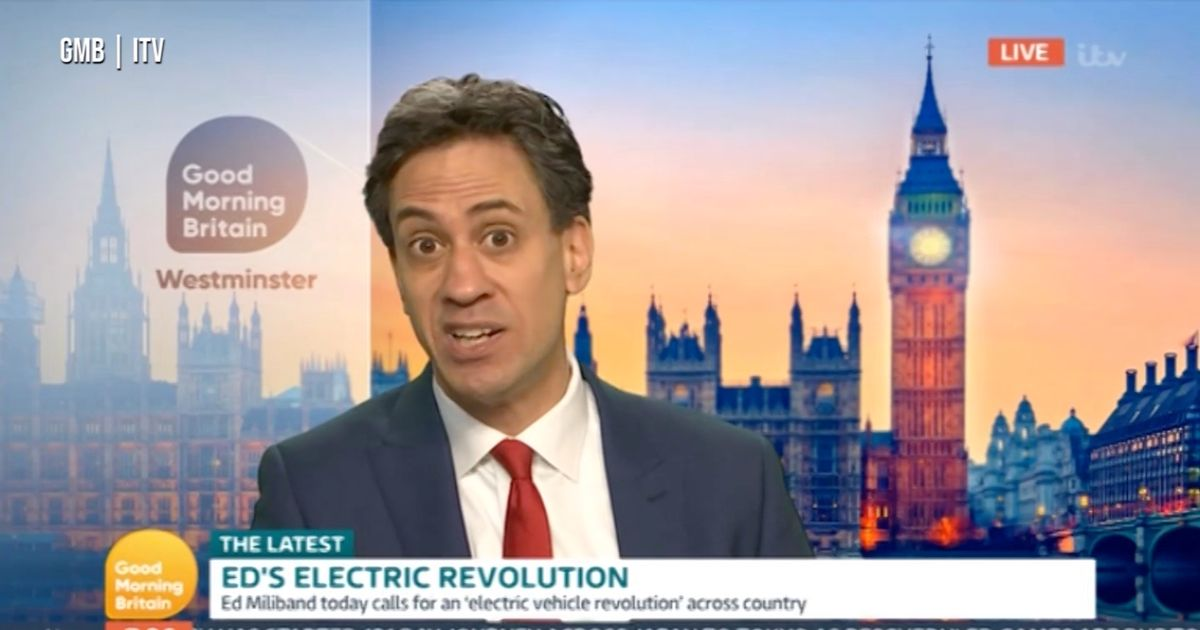 Ed Miliband says buy electric cars - but then makes admission