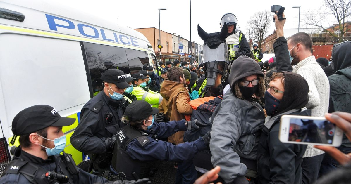Fears new laws could make policing protests more difficult