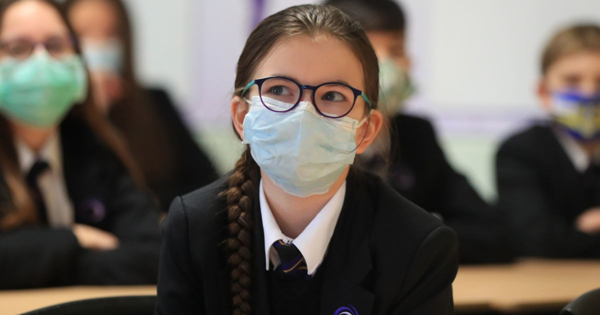 First signs of how many pupils taking Covid tests and wearing masks