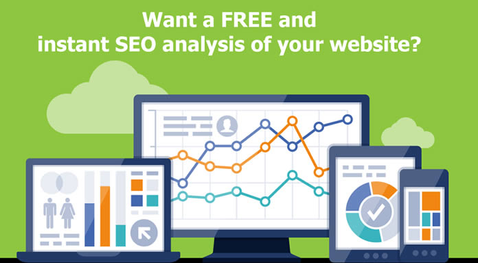 Get free seo analysis of your website!