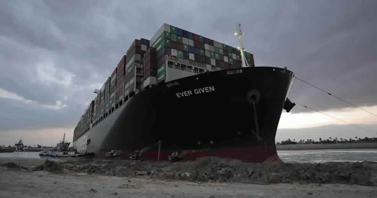 Giant ship blocking Suez Canal partially refloated after huge effort to reopen trade route