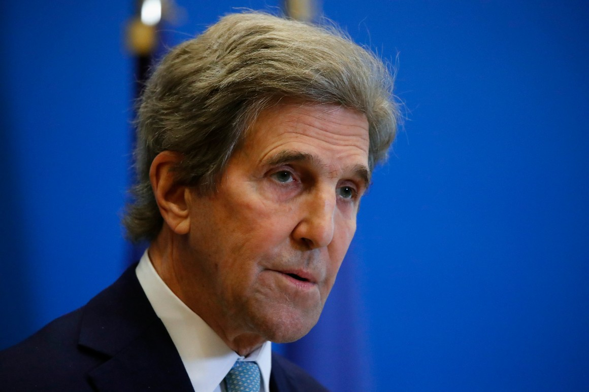 Kerry to Wall Street: Put your money behind your climate PR