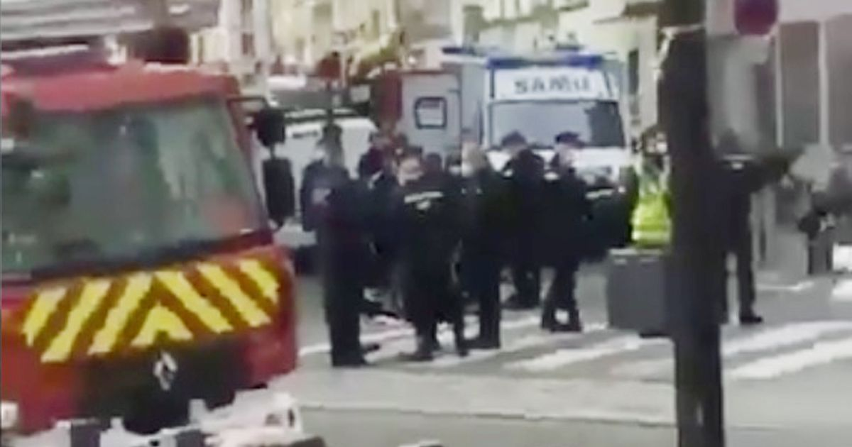 Knifeman shot dead near Paris Eurostar after he threatened mountain bike police