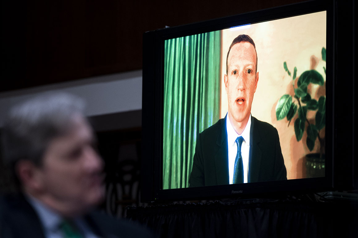 Lawmakers rebuff Facebook's proposed internet rules