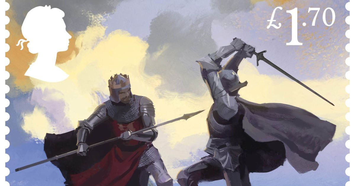 Legend of King Arthur told on new Royal Mail stamps