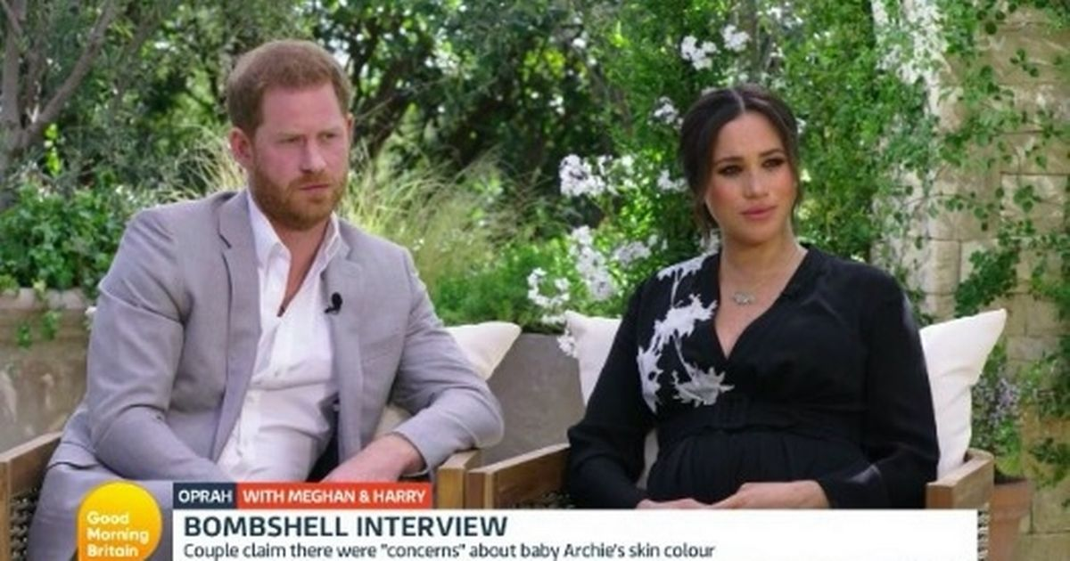 Meghan Markle and Prince Harry 'don't look happy' after 'damaging' interview