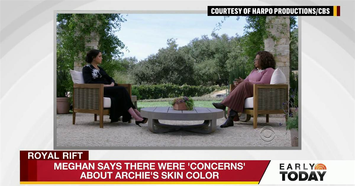 Meghan and Harry's revelations in Oprah interview touch on racism, suicidal thoughts