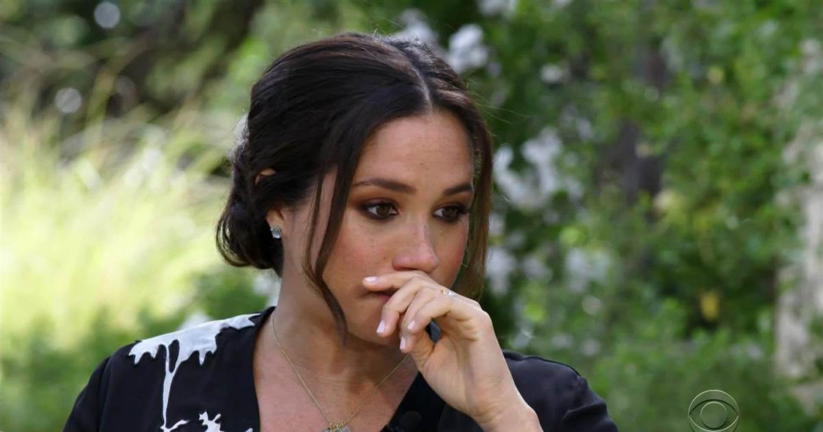 Meghan tells Oprah of her suicidal thoughts