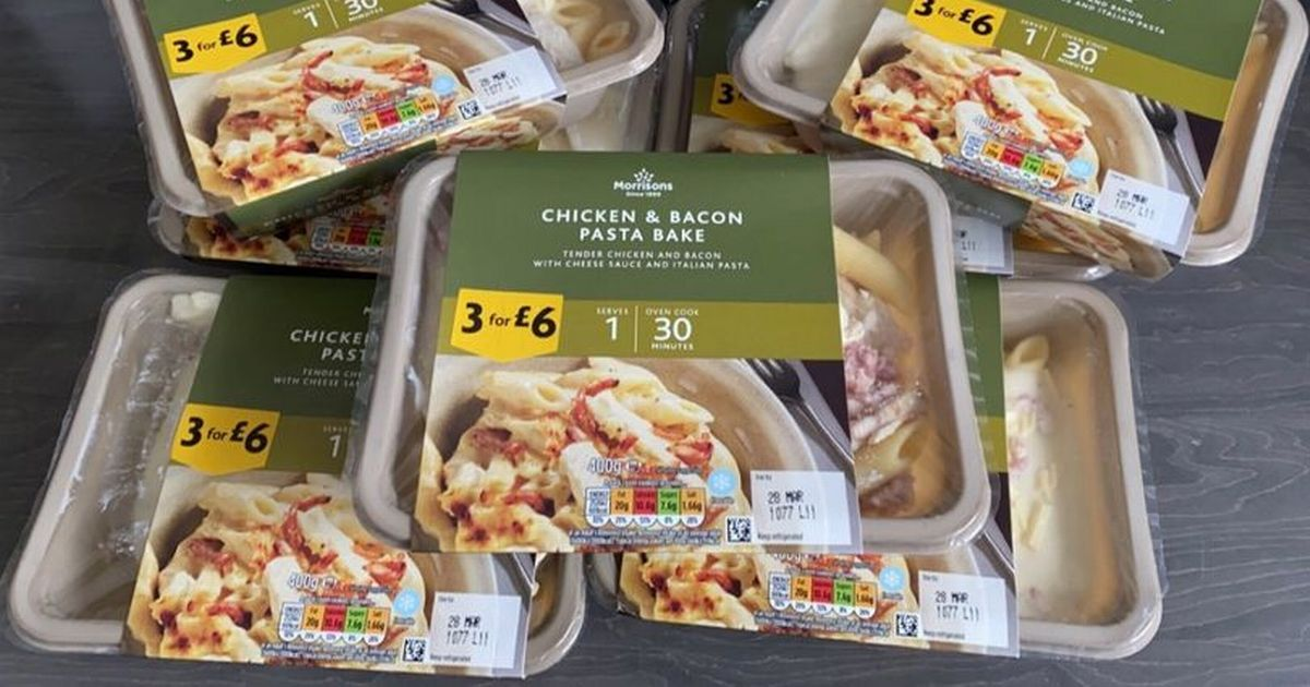 Morrisons subtracts calculators from order and adds seven pasta bakes