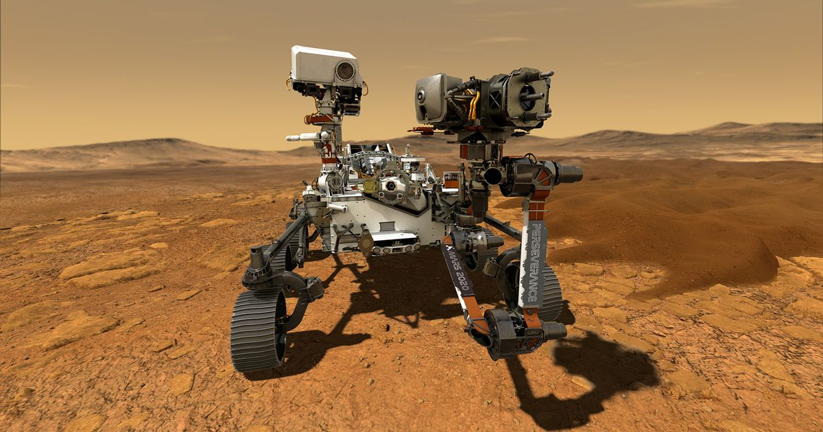 NASA releases sounds of Mars audio as Perseverance rover laser probe hits rocks