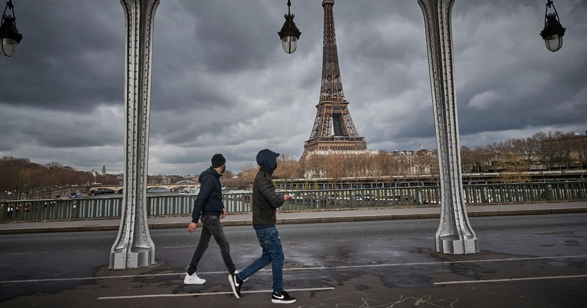 Paris forced into month-long Covid lockdown again amid jabs rollout problems