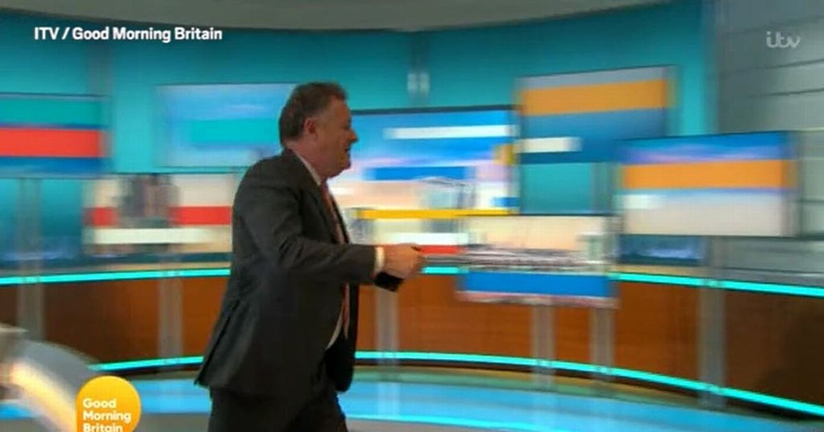 Piers Morgan replaced on Good Morning Britain on Wednesday