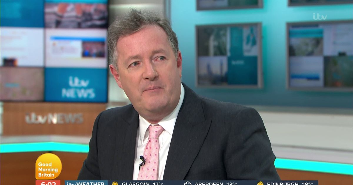 Piers Morgan's confusion over unflattering title win