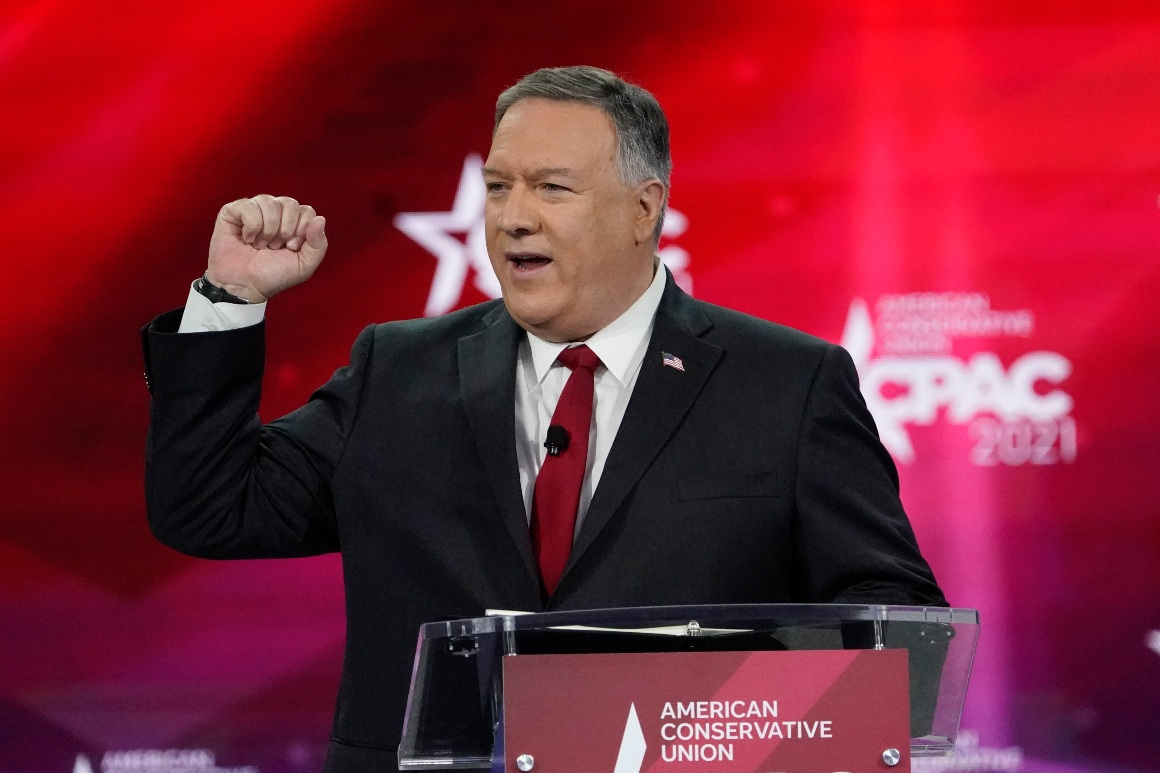 Pompeo teases 2024 run: 'I'm always up for a good fight'