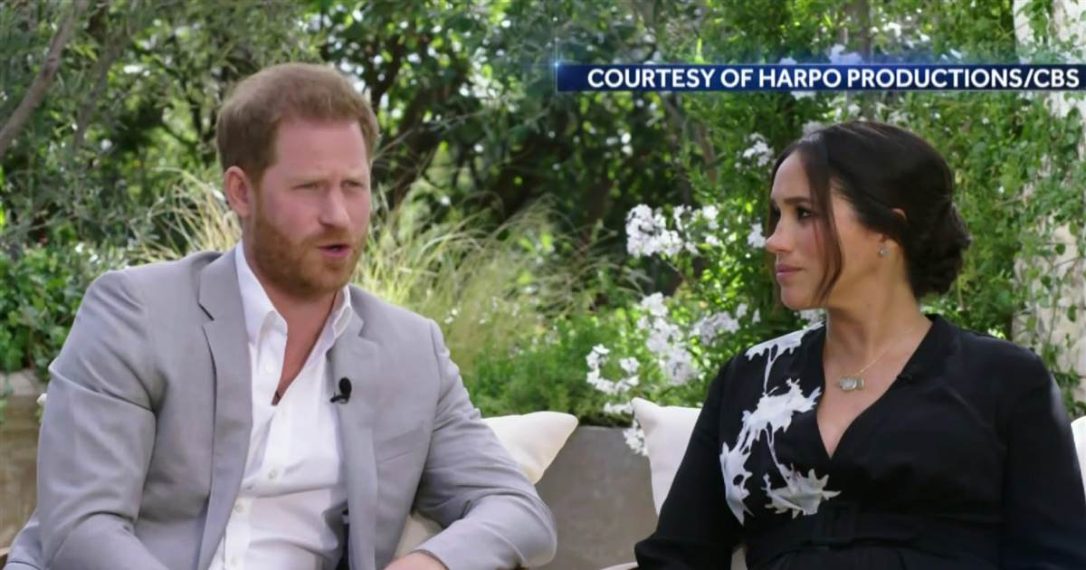 Prince Harry, Meghan Markle reveal racism within royal family in bombshell interview