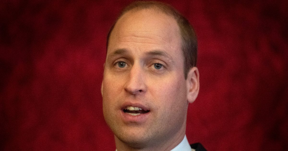 Prince William to give video address to nation
